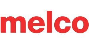 Marque de machine a coudre -Melco -Logo