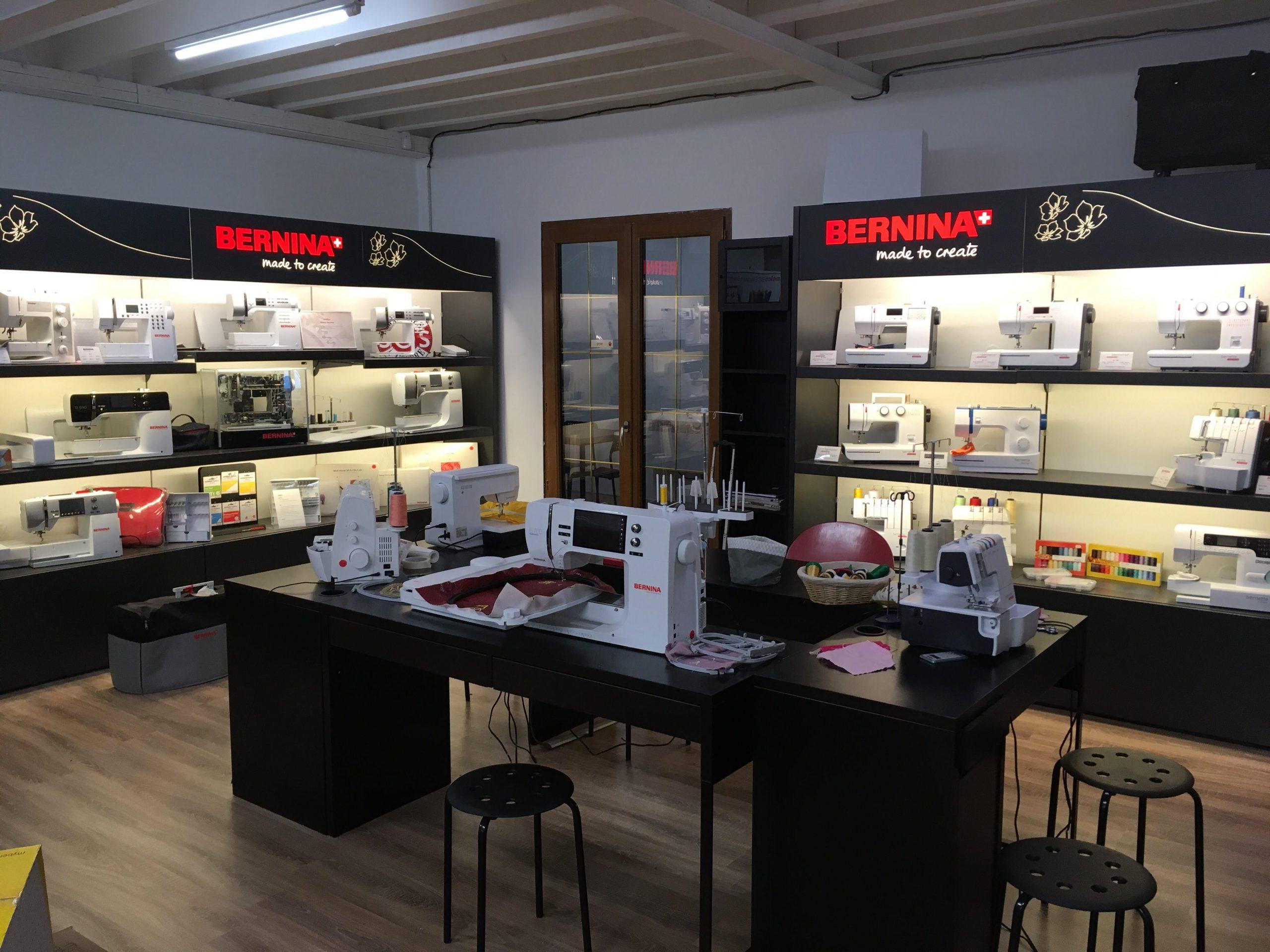 Revendeur exclusif de machines à coudre Bernina